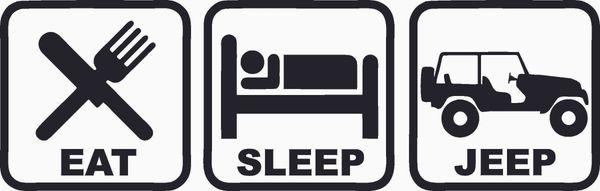 Eat Sleep Jeep 2