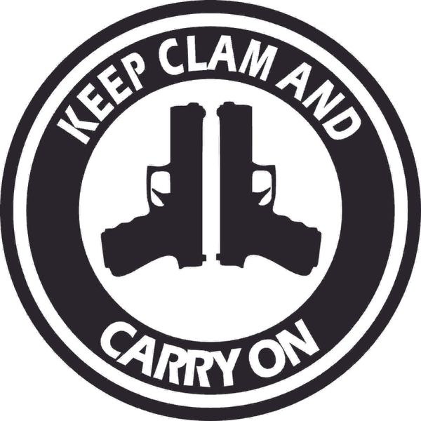 Keep Clam Carry On