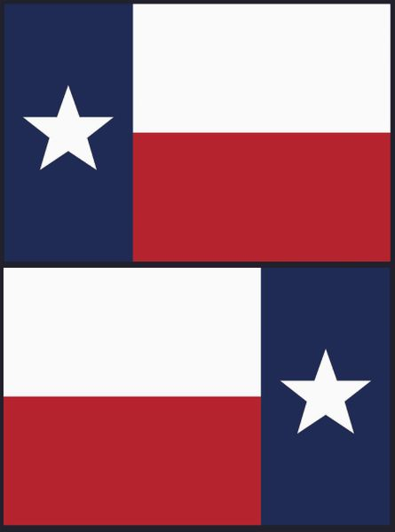 Texas Flag Set