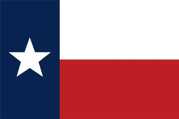 Texas Flag Single