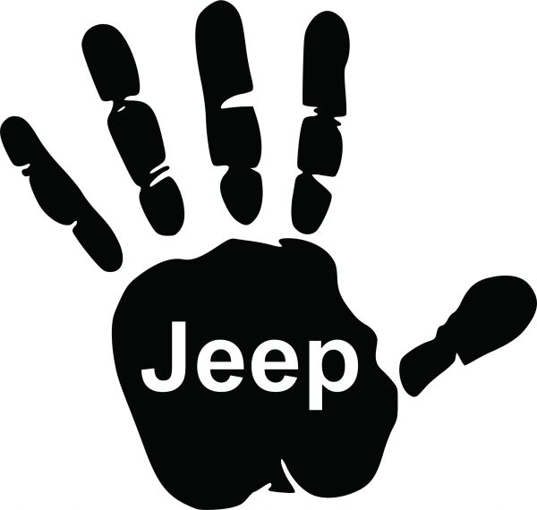 Hand Wave with Jeep