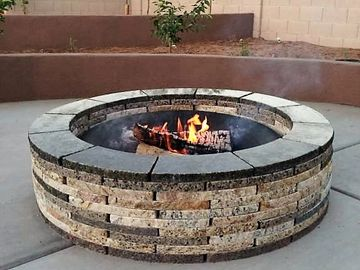 Our granite fire pits are built to last forever. They are easily installed many flat surfaces and ca