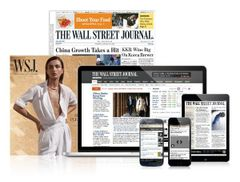 The Wall Street Journal 12 Months Full (Print&Digital) Subscription