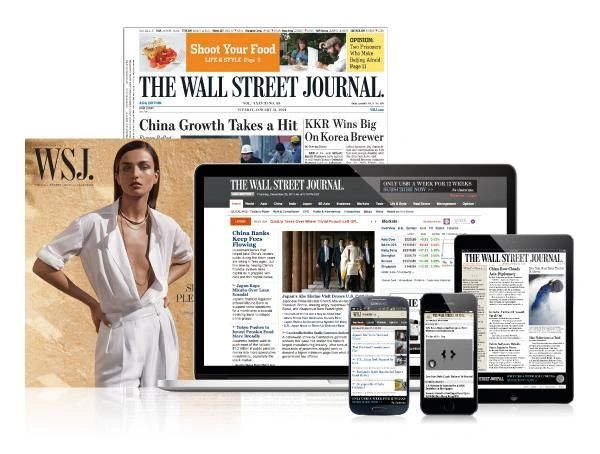 The Wall Street Journal 12 Months Full (Print&Digital) Subscription
