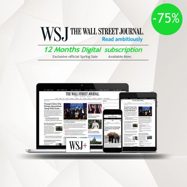 The Wall Street Journal 12 Months Digital Subscription
