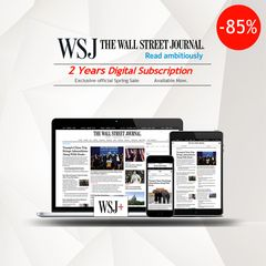 The Wall Street Journal 2 Years Digital Subscription
