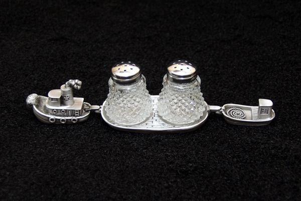 Tugboat Salt & Pepper Set
