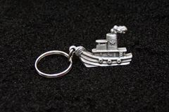 Tugboat Key Chain