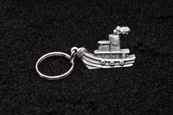 Tugboat Key Chain