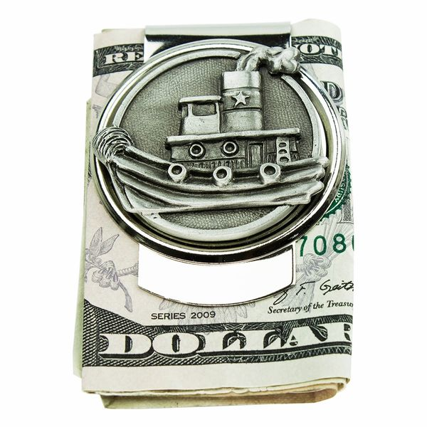 Tugboat Money Clip