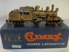 HO Brass United 2 Truck Climax - Unpainted