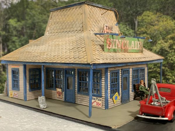 The Always Gas & Dine - HO Scale Craftsman KIT !