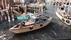 O-On30 Scale 34' Utility Boat - Jason Jensen Trains