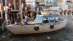 HO Scale 34' Utility Boat - Jason Jensen Trains