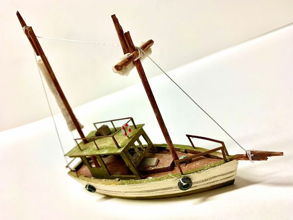 HO Scale 34' Sailing Skip - Jason Jensen Trains