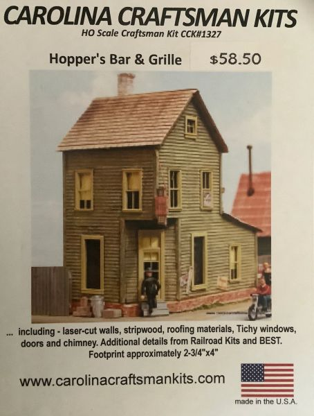 Hopper's Bar & Grille - OOP