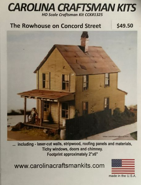 The Rowhouse on Concord Street - Back in Stock!