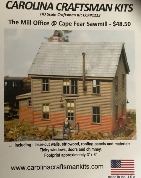 The Mill Office @ Cape Fear Sawmill - OOP