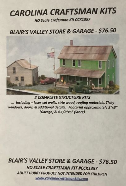 Blair's Valley Store & Garage - Available for a Limited Time!!!!