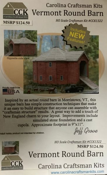 Vermont Round Barn - THE RETURN OF A CLASSIC!!!