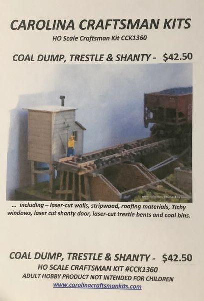 Coal Dump, Trestle & Shanty - OOP