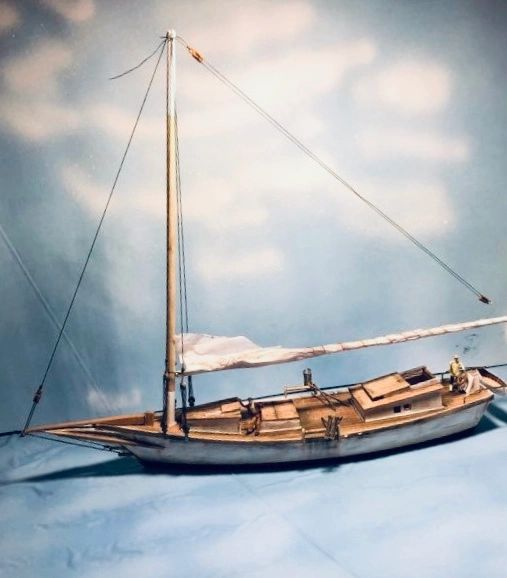 HO Scale Chesapeake Bay Skipjack - Shipping now....
