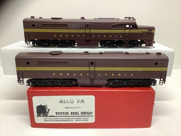 HO Brass Westside ALCO PA Ap-Bd Pennsy - AS IS!!!