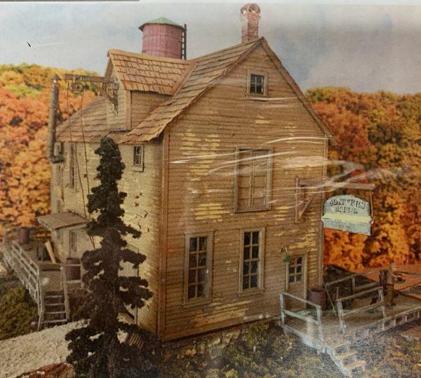 HO Craftsman KIT Matter's Mill - An original!!!