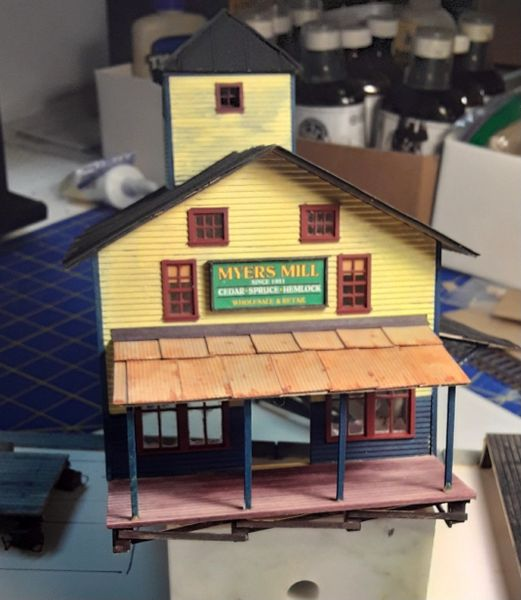 Myer s Mill - HO Diorama Kit - NOW SHIPPING!!!!