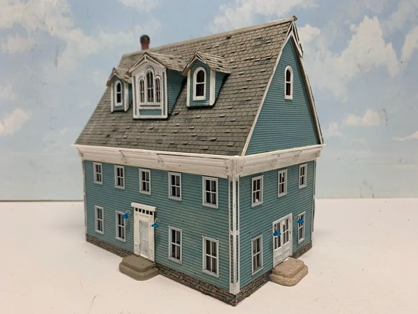 Captain Effird's House - HO Scale Craftsman KIT