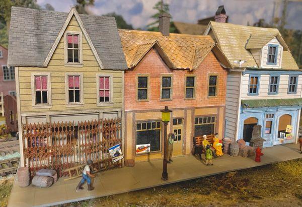 HO Craftsman KIT Fenton Avenue REVISED - NOW SHIPPING!!!