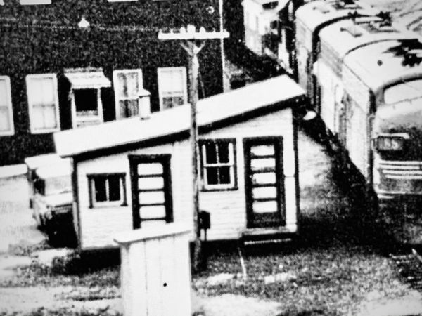 HO scale Laurel Bank Train Order Office