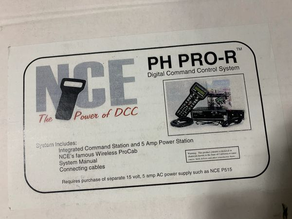 NCE DCC System PH PRP-R