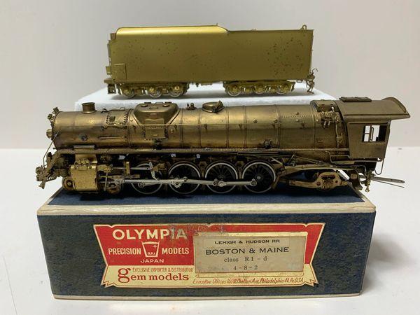 HO Brass Olympia/Gem project loco B&O T4 - AS IS!