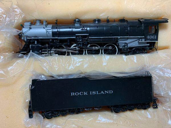 HO Brass Hallmark 2-8-4 Rock Island - AS IS!