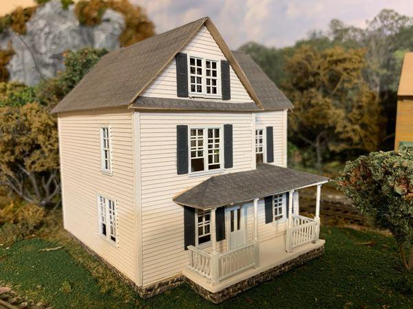 HO Craftsman KIT Palmer House