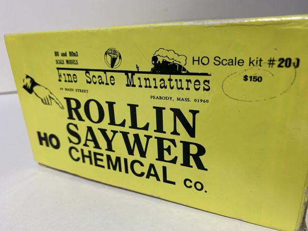 HO FSM Craftsman Kit - Rollin Sawyer - ESTATE
