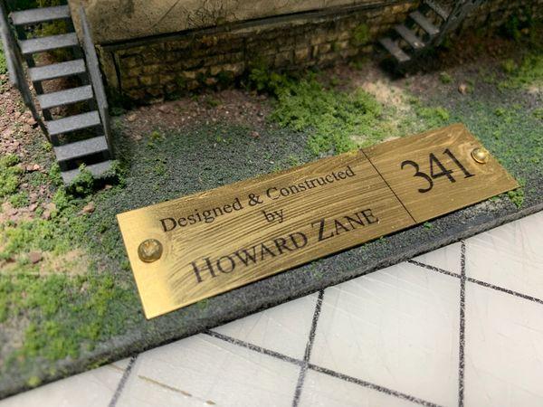HO Howard Zane Built Diorama - Warren Mill