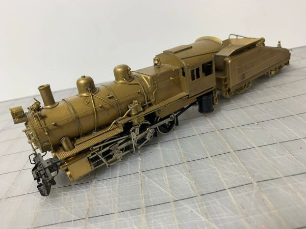 HO Brass Howell Day 0-6-0 B6 PRR Project - AS IS!
