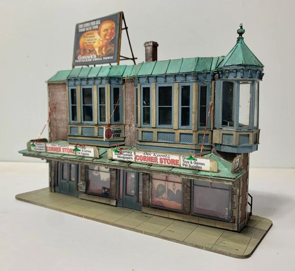HO Craftsman KIT Doc Koontz Store - BRICK - Available now!!!!