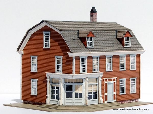 Knowles Corner Store - Newport RI Series - HO SCALE