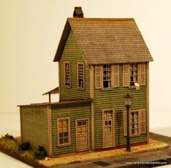 Concord Street #824 - HO Craftsman Kit