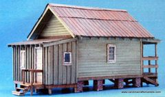 Shotgun House - O/On30 Craftsman Kit