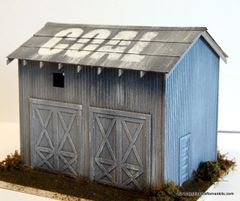 COAL SHED - O - On30 KIT