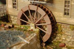 HO Scale KIT 20' Waterwheel
