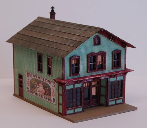 Five & Dime Store - HO Scale Craftsman KIT BACK IN STOCK!!