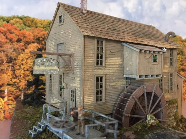 O Scale Matter's Mill