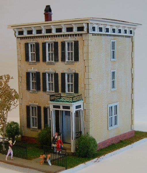 Chancellor's House - HO Scale Craftsman KIT