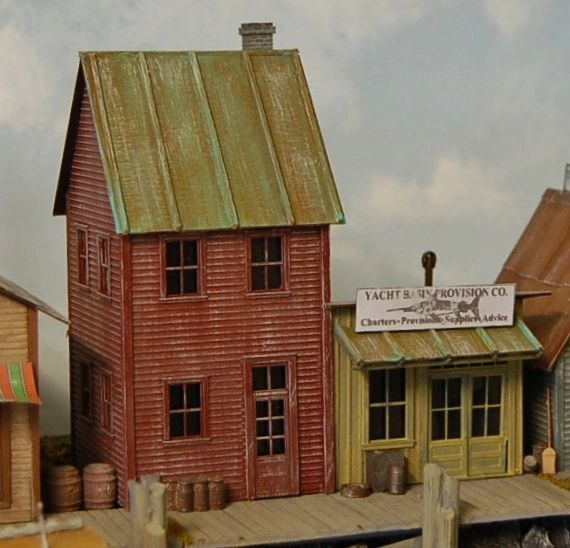 Provisions Charter - HO Scale Zip-Kit