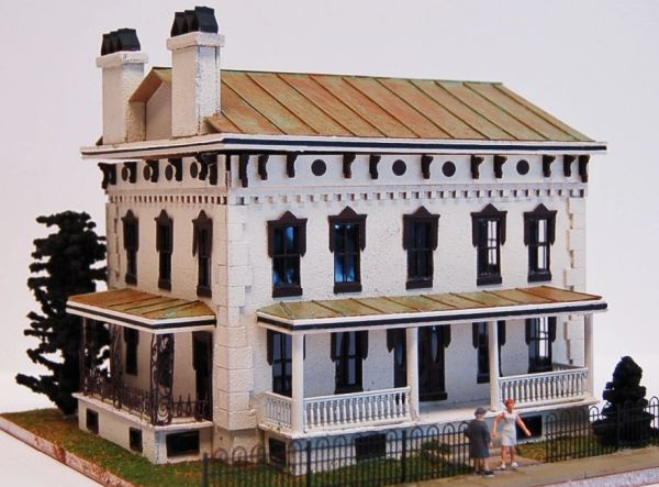 Latimer House - HO Scale Craftsman KIT - LIMITED QUANTITIES!!
